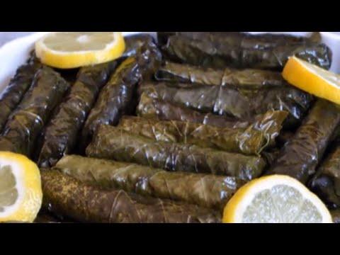 Sarma selber machen / gefüllte Weintraubenblätter / türkisch