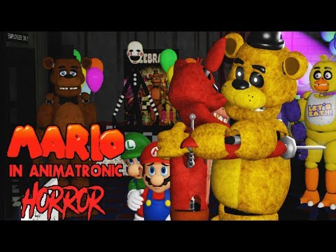 A BROTHERS TEARFUL APOLOGY ACCEPTED | MARIO IN ANIMATRONIC HORROR - NIGHT 5 + MULTIPLE ENDINGS!!