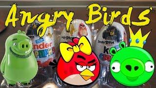 Киндер Сюрприз Энгри Бердс в Кино The Angry Birds Movie 2016 на русском языке