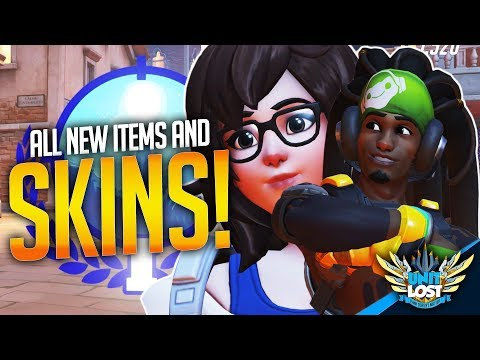Overwatch Retribution all skins and items! (Voice lines, Sprays, Emotes!)