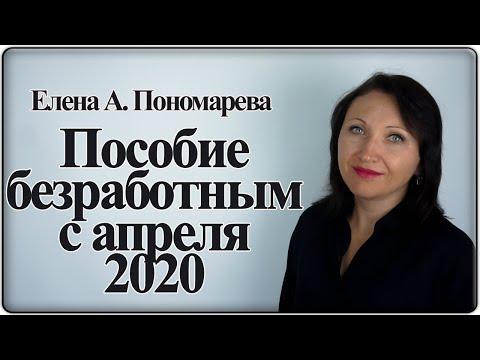 Пособие по безработице с апреля 2020 - Елена А. Пономарева