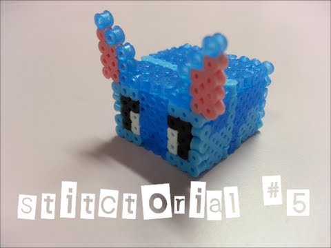 Stitctorial #5 : How to make stitch mini box with mini hama beads? from YouTube · Duration:  3 minutes 43 seconds