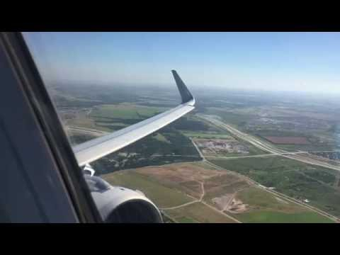 American Airlines A321 Business Class Austin to Dallas/Fort Worth (Full Flight)
