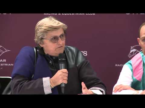 Conférence de presse - Qatar Prix Jean-Luc Lagardere (Grand Criterium)