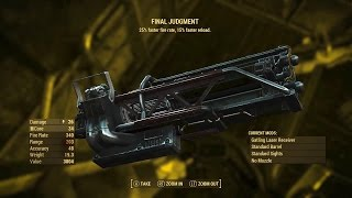 Fallout 4 - BEST WEAPON FINAL JUDGEMENT How To Get The Final Judgement Fallout 4 Location