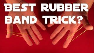 World's Best Rubberband Trick!