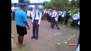 Repeat youtube video Learner injured in knife fight outside school