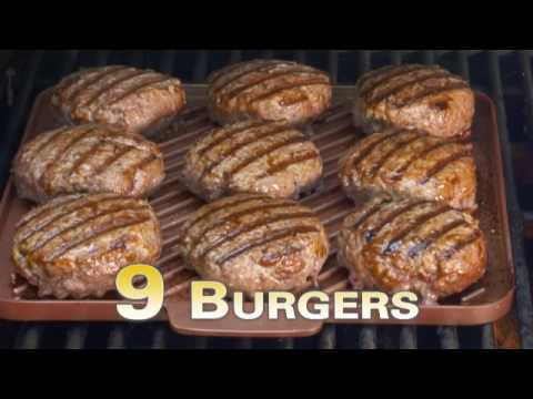 Copper Chef Grill And Griddle Commercial Youtube