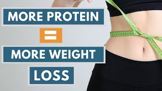 Protein for Weight Loss - How Eating More Protein Helps You Lose Weight