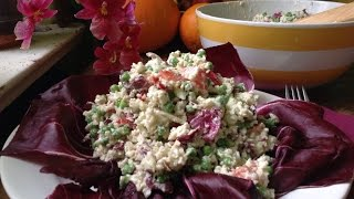 Cauliflower Salad With Cashew Mayonnaise ~ Quick & Easy