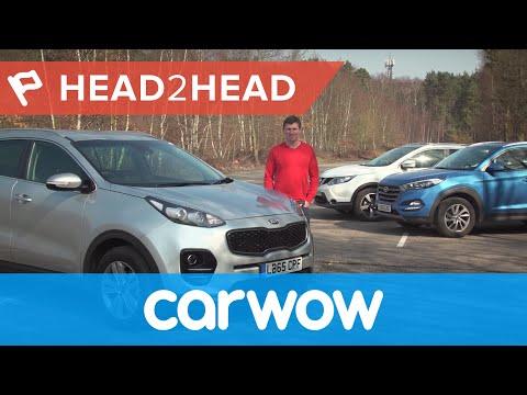 Kia Sportage vs Hyundai Tucson vs Nissan Qashqai 4K review: which is best?
