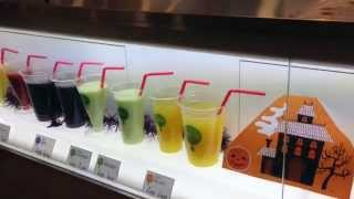 Eating Healthy in Japan | Cold Pressed Juice & Smoothies