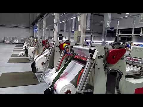 Jumbo Factory For Plastic Bag Production