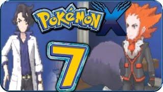 Let's Play Pokémon X Part 7: Illumina CIty, Pokémon-Labor, Professor Platan & Flordelis