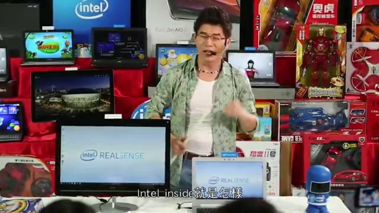 寶島叫賣哥介紹最新 Intel RealSense 技術 - YouTube