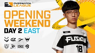 [Co-Stream] Overwatch League 2021 Season | Opening Weekend | Day 2 — East