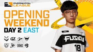 [Co-Stream] Overwatch League 2021 Season | Opening Weekend | Day 2 — East