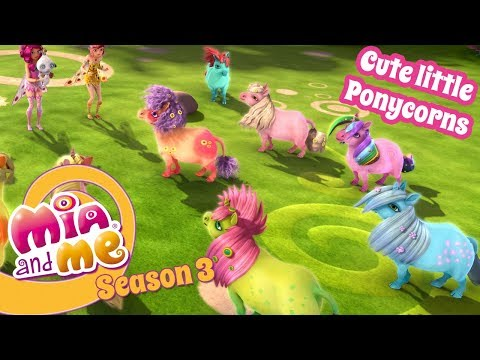 Cute little ponycorns - Mia and me - Season 3