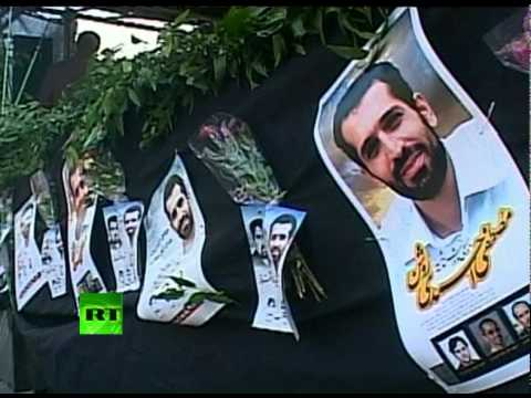 Video: Murdered Iran nuke scientist funeral