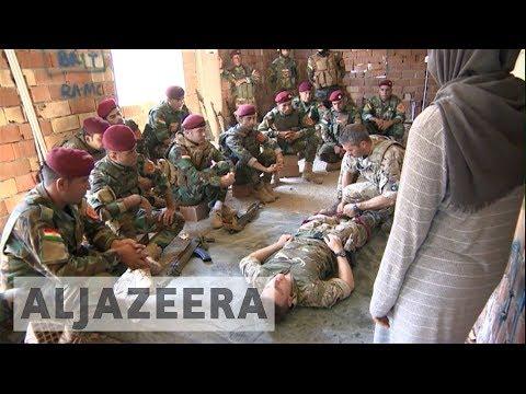 Peshmerga enlists Western help to build army