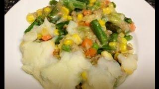 Weight Watchers  Friendly Dinner Recipe Shepherd's Pie!! Comfort Food Time!! 6 Points!