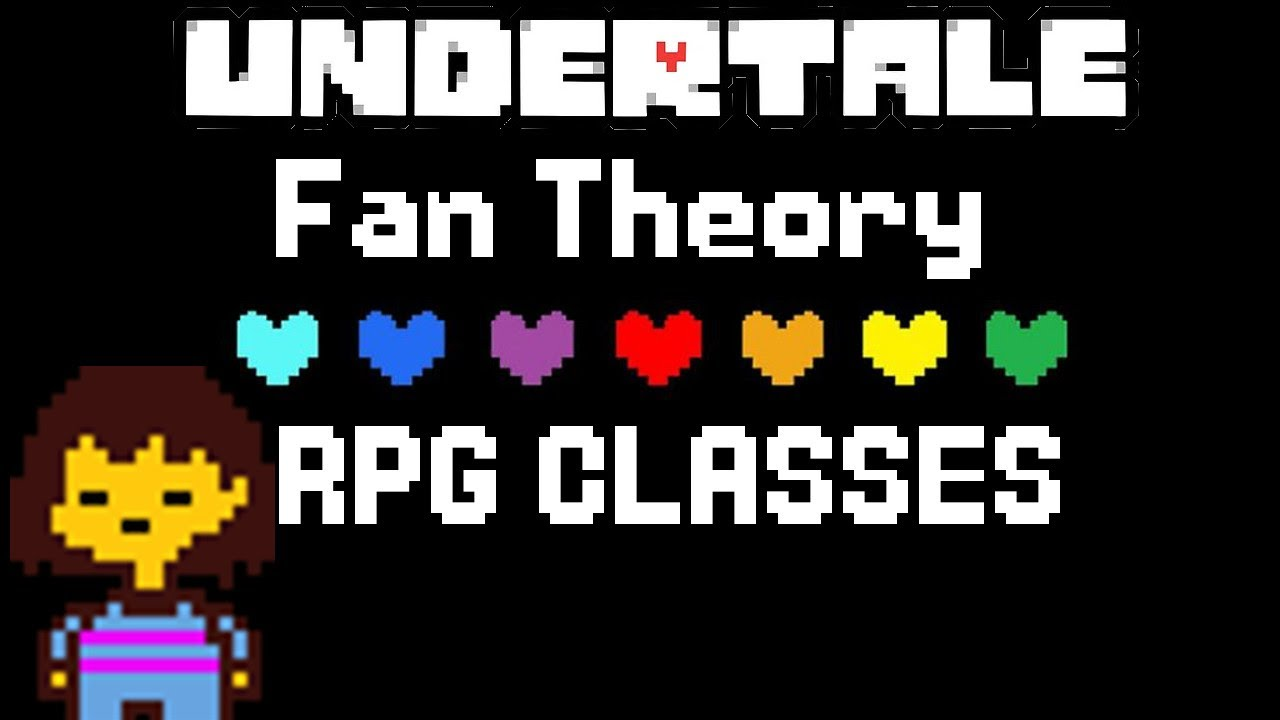 Undertale Theory - Human Souls are based on RPG Classes