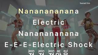 [KARAOKE/INST] f(x)_에프엑스 - Electric Shock