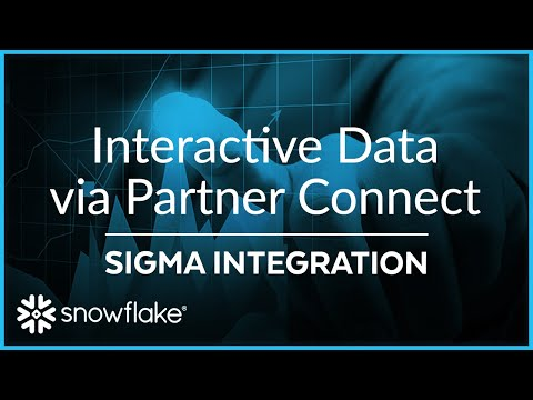 Transform and Visualize Your Data with Sigma through Partner Connect