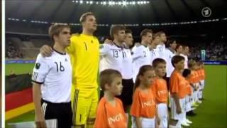 2010.9.3 Germany National Anthem v Belgium - Euro 2012 Qualifying