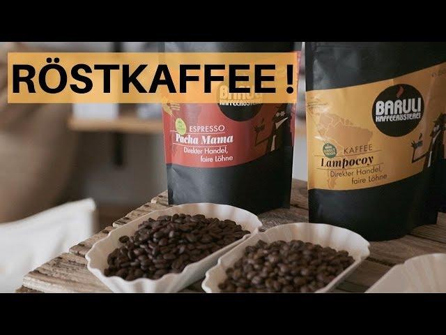 Unterschied zwischen Espresso- & Kaffeebohnen / Röstkaffee