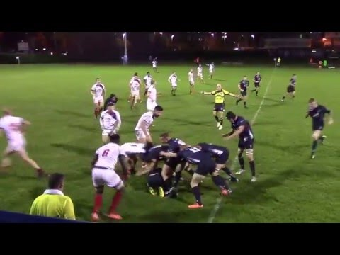 London Scottish Senior Academy VS Navy U23
