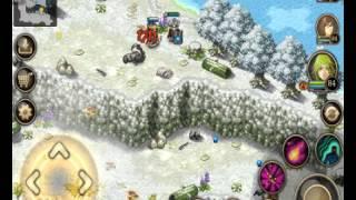 The Legendary Sword Location - Eternal Snowy Valley Lv 83 - Inotia 4