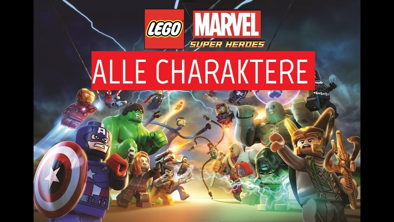 let 39 s play lego marvel superheroes 051 alle charaktere. Black Bedroom Furniture Sets. Home Design Ideas