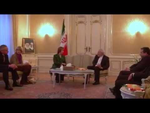 EU HR Ashton meets Foreign Minister Zarif