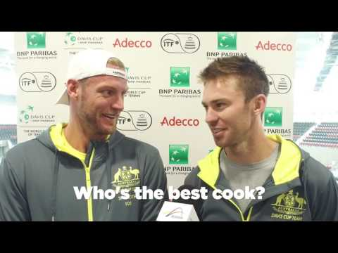 Get to know Team Australia | Davis Cup Australia v USA
