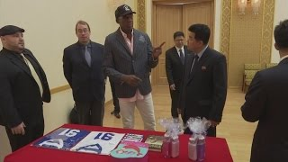 North Korea warmly welcomes NBA star Dennis Rodman amid release of US student