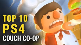 Top 10 PS4 Couch CO-OP Games To Play With Friends & Family