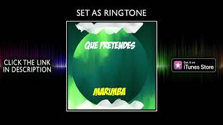 Marimba remix of que pretendes - bad bunny, j balvin ringtone for iphone
