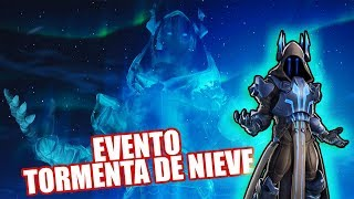 EVENTO TORMENTA DE NIEVE FORTNITE *REY HELADO* CINEMATICAS
