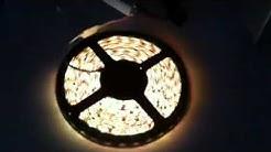 RGB LED nauhapaketti kaukosäätimellä