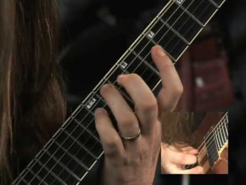 Oli Herbert in his Rock House Metal Guitar instructional DVD- Big Boss Encounter