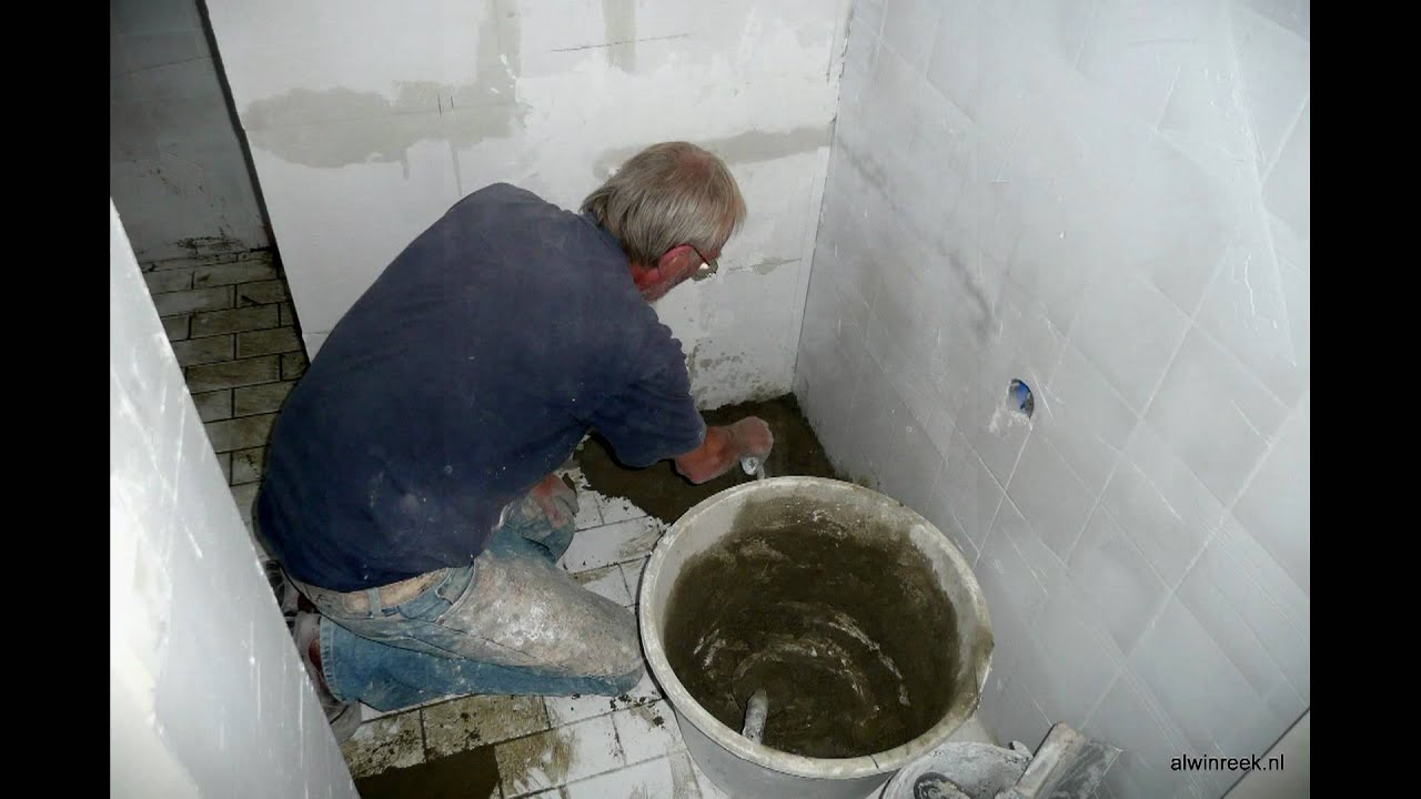 badkamer verbouwen van oude naar nieuwe situatie youtube