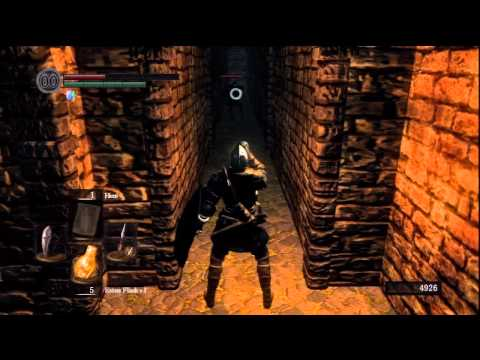 Dark Souls Blind Run 013 - Poking a Golem in His Crotch