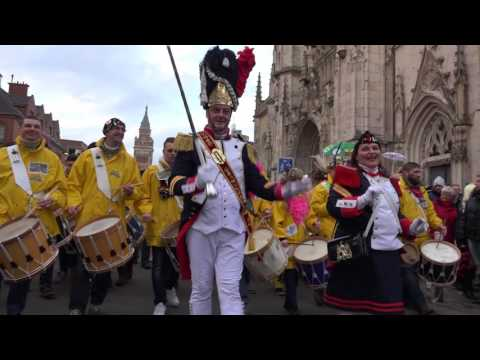 La bande du Carnaval de Dunkerque 2017