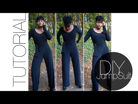 Easy DIY Jumpsuit