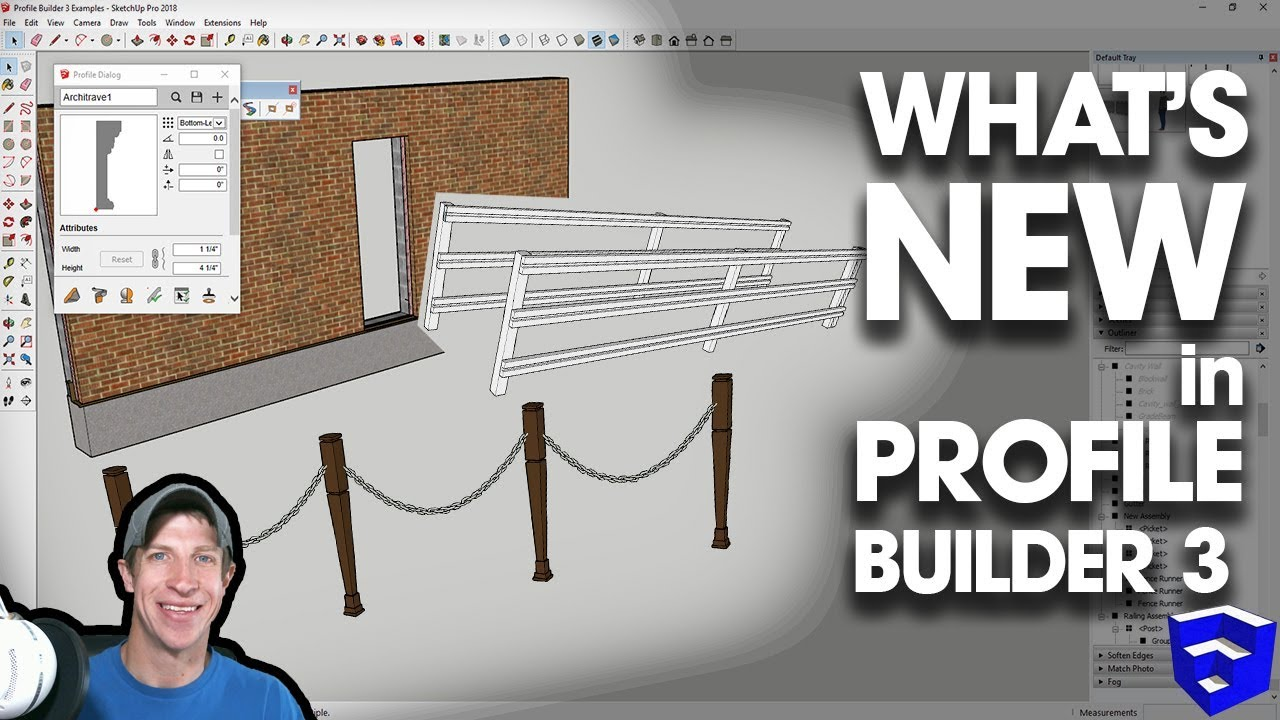 WHAT'S NEW IN PROFILE BUILDER 3 for SketchUp?