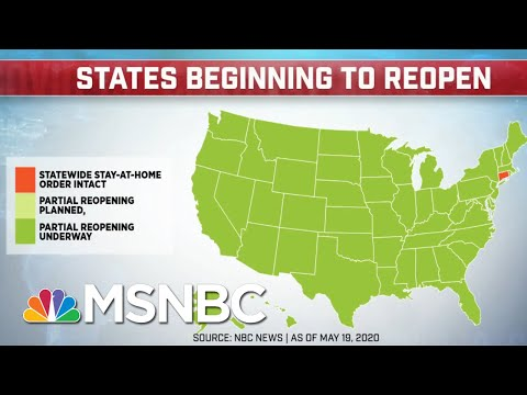 All 50 States Set To Partially Reopen As Number Of COVID-19 Death Surpass 92,000 | MTP Daily | MSNBC