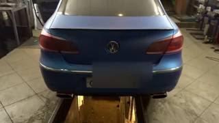 видео тюнинг выхлопа Volkswagen