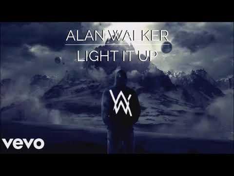 Music video Alan Walker - Light It Up