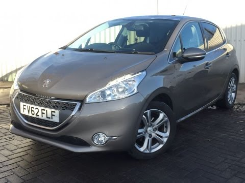 2012 Peugeot 208 1.4 VTI ALLURE 5DR In Spirit grey - YouTube